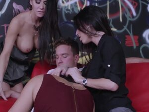 Hot foursome with Dava Foxx, Alison Tyler, and