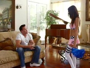 Melanie Rios in Young Cheerleader gets fucked!