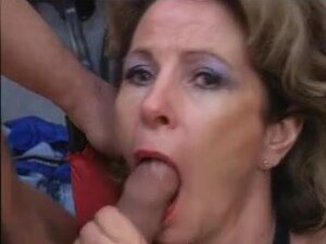 Older German group sex, Aged German bang with 2