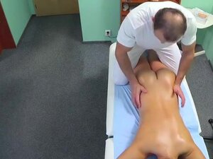 Doctor fucks nurse then patient in his fake