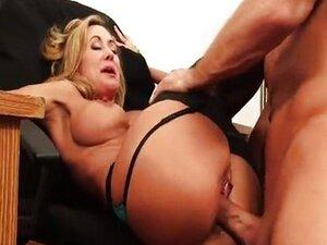 Brandi Love is a horny secretary