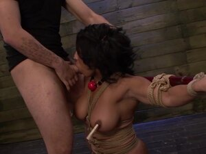 Becca Diamond Returns for More Rope Bondage and