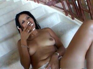 Exotic pornstar in incredible facial, brunette