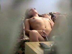 voyeur clip of a hot immature slut, Home made
