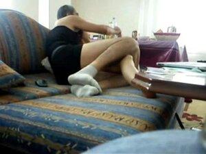 Indian Hot Young Babes Dick Ride In Sofa Enjoying