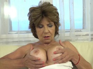 Old Pussy and Ass FUCK with toy,  Old Pussy and