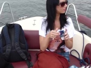Ardent fucking on a boat, Homemade couple movies
