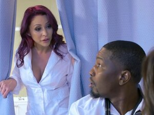 Black doctor gets lucky with two babes who want to