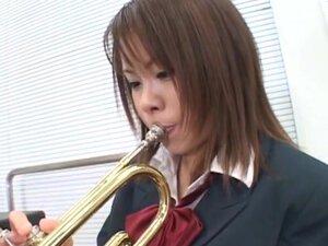 Cosplay Porn: School Trumpet part 1