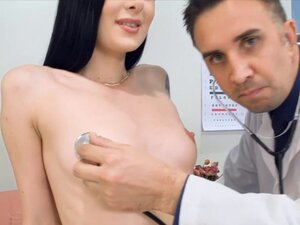Skinny chick goes to the hospital and fucked hard