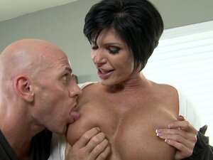 Johnny Sins is fucking hot mouth of Shay Fox