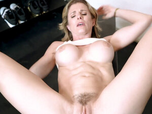 Step Mother Is Stuck And Fucked In Her Ass At The