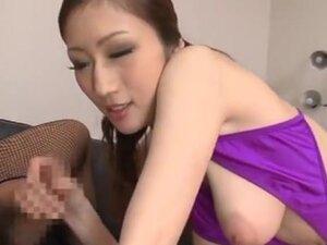 Fantastic boobs Julia in a kinky bikini getting