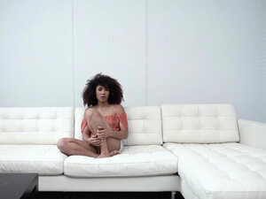 Black teen Nia Nixon getting on top and taking