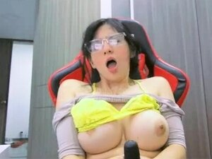 BUSTY ASIAN WITH BIG PUFFY NIPPLES