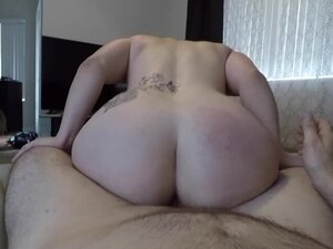 Teen step sister gets load on pussy!