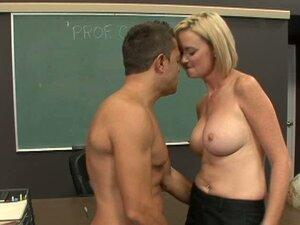 Skinny school teacher Camryn Cross seduces her