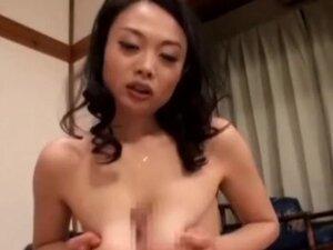 Nachi Kurosawa lovely Asian milf enjoys bondage,
