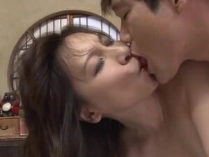 Hot Japanese milf Yuuri Saejima in a tough